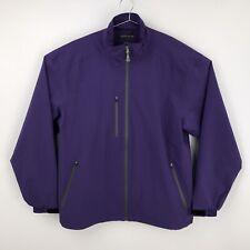 Mens XL - Peter Millar Element 4 Water Performance Wind Golf Purple Jacket