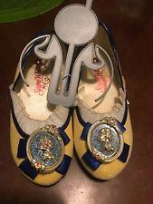 NWT Disney Store Princess Snow White Costume Shoes 11/12