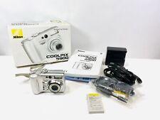 Nikon COOLPIX 5900 5.1MP Digital Camera - Silver