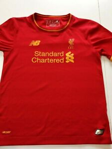 maillot de football liverpool taille 6/7 ans new balance