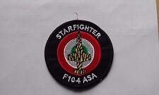 PATCH RARISSIMA F-104 ASA STARFIGHTER TIGER MEET