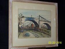 WPA John William Naylor Listed Artist Original Painting