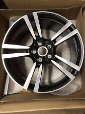 "Porsche Cayenne Factory Genuine 10.0JX21"" Turbo II Wheel 95836214201041 Black"