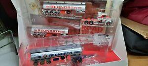 Rednorth Tanker Road Train, 3 Trailers 1:64 Scale