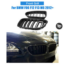 For BMW F06 F12 F13 M6 2012+ Front Kidney Grille Carbon Fiber Grill