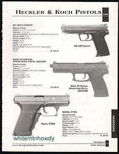 2002 HECKLER & KOCH HK USP Expert, Mark 23 Special Operations, P7M8 Pistol AD