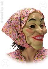 Maschera Befana con Foulard Travestimento Donna Epifania Carnevale Taglia Unica