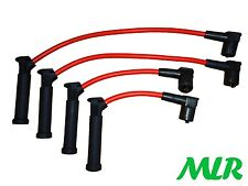 FORD COURIER FIESTA ZETEC FOCUS PUMA RED 8MM SILICONE IGNITION HT LEADS BCZ