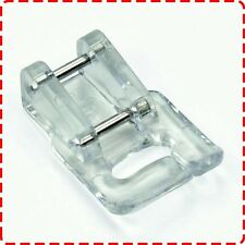 Janome Appliqué Foot (B Foot) - 7mm Elna Brother Clip On Plastic Glide Patchwork