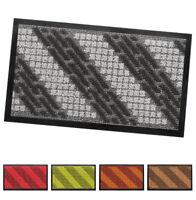Zerbino tappeto asciugapassi ingresso 40x70 antiscivolo tessitura 3D mosaico