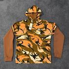 Adidas Men's Sportswear Desert Camouflage Allover Print Hoodie GQ2911 Size Small
