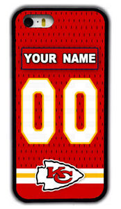Kansas City Chiefs Custom Name Rubber Phone Case Cover For iPhone / Samsung / LG