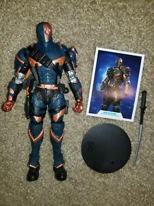 "McFarlane DC Multiverse Batman Arkham Origins Deathstroke 7"" Action Figure"