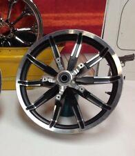 """08-17 OEM Harley Touring Impeller Black Wheel Rims 17"""" Front"""