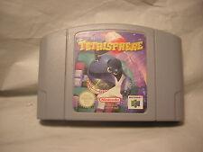 nintendo 64 Tetrisphere   jeu N64