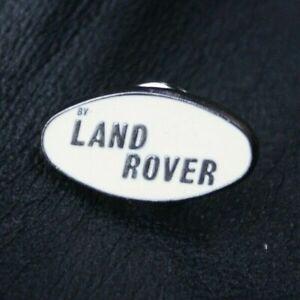 Motoring Pin Badge LAND ROVER Logo 1970