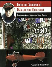 Inside the Victories of Manfred von Richthofen, Volume 1:  J Miller, SB, new