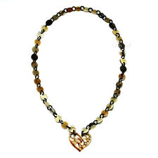 - Q4255 Horn Chain Necklace