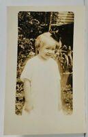 RPPC Darling little Girl Cute Smile Irma Doris Walters Real Photo Postcard M12