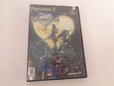 Kingdom Hearts Sony PlayStation 2 2003 CIB Complete PS2 Tested Black Label