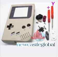 Nintendo Game Boy Console Shell Case Housing Screen Screwdriver repair grey blk