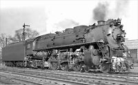 Delaware Lackawanna Railroad Photo DLW 1155 4-6-4 Hudson Steam Locomotive Train