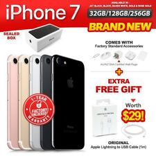 New & Sealed Factory Unlocked APPLE iPhone 7 32 128 256GB Jet Black Gold Silver