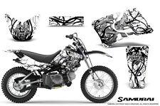 YAMAHA TTR90 CREATORX GRAPHICS KIT DECALS SAMURAI BW