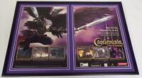 Castlevania Curse of Darkness PS2 Framed 12x18 ORIGINAL Advertising Display