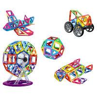 106 PCS Magnetic 3D Toy Blocks Building Tiles Stack Set Block Stacking Toys