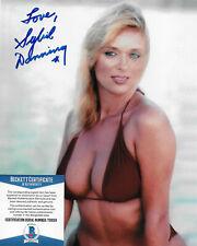 Sybil Danning Original Autogramm 8X10 Foto W / Beckett #2