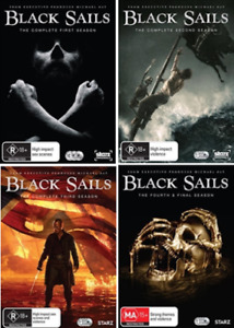 BLACK SAILS : Complete Series Season 1 2 3 4 : NEW DVD