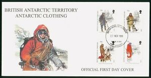 Mayfairstamps British Antarctic Territory 1998 Clothing combo First Day Cover ww