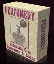 parfumerie 47 vintage books on dvd parfüm, ätherische öle, seifenwerkstatt olfaktion