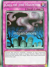 Yu-Gi-Oh - 2x Call of the Haunted - SR02 - Structure Deck Rise of the True Drago