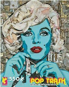Ceaco 550 Piece Jigsaw Puzzle Marilyn Monroe Jason Mecier 18x24 NEW, Sealed