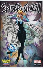 Marvel Spider Gwen 1 Variant Midtown Comics NYC Exclusive Campbell