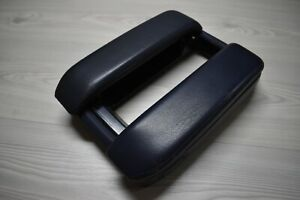BMW E38 Center Console Armrest Blue Color