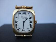 Reloj pulsera Greiner. Bañado en oro. Suiza. Años 60. Cuerda. Mujer. 17 gemas
