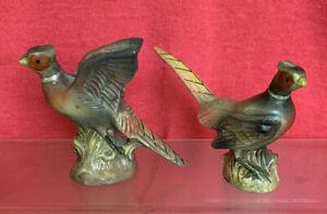 Vintage Pheasant Birds - Cruet Set