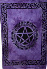 Celtic Star Wall Hanging Cotton Tapestry Poster Beautiful Design Indian Handmade