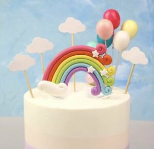 Rainbow Set Cake Topper