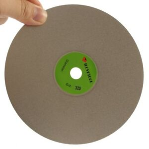 4''inch Diamond Grinding Disc 80-3000 Grit Coated Flat Lap Disc Lapidary Tools