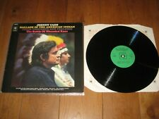 Johnny Cash  LP. Ballads of the american indian (5893)