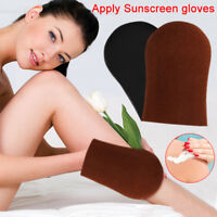 Body Self Fake Applicator Tanning Gloves Cream Lotion Mousse Glove Self-Tanner