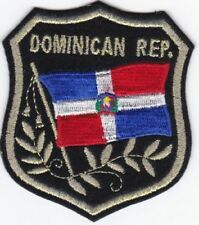 Dominican Flag Patches, International Flag Patches, Biker Patches, Flag Patches