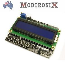 LCD Keypad Shield for Arduino, 1602 Blue LCD, 6 Buttons, FAST Shipping SYDNEY