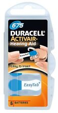 Duracell Activair Hearing Aid Batteries Size 675 (60)
