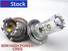 H7 Xenon WHITE 50W CREE HIGH POWER CREE LED Car Fog Bulbs AUDI