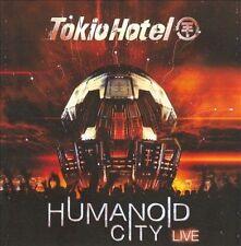 Humanoid City Live by Tokio Hotel (CD, Jul-2010, 2 Discs, Cherrytree Records)